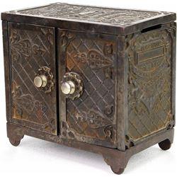 Scarce cast iron1896 Kenton bank Chicago