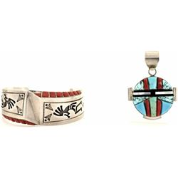 Collection of 2 quality southwest jewelry
