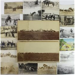Large photo grouping and postcards includes