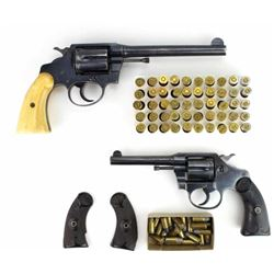 Collection of 2 Colt revolver includes Police