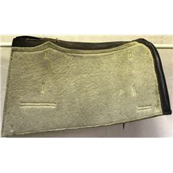US Cavalry or packer leather saddle blanket