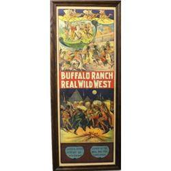 Large original Buffalo Ranch Real Wild West