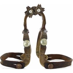 North & Judd Anchor stamped Hercules bronze spurs