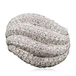 14KT White Gold 3.75 ctw Diamond Ring
