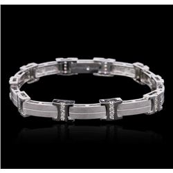 14KT White Gold 0.49 ctw Diamond Bracelet