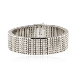 14KT White Gold 15.43 ctw Diamond Bracelet
