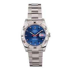 Gents Rolex Stainless Steel Thunderbird DateJust Wristwatch