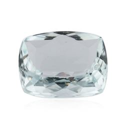 4.22 ctw Cushion Cut Natural Cushion Cut Aquamarine