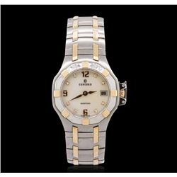 Ladies 18KT Two-Tone Gold Diamond Concord Wristwatch