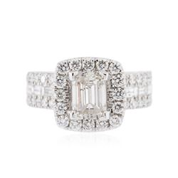 14KT White Gold 1.97 ctw Diamond Ring