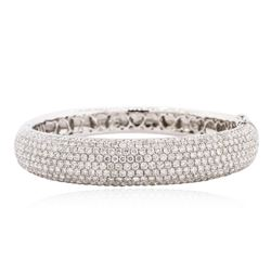 18KT White Gold 11.00 ctw Diamond Bracelet