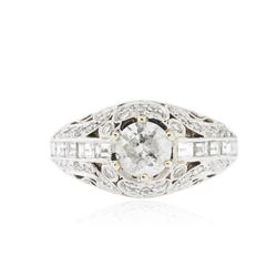 18KT White Gold 1.96 ctw Diamond Ring