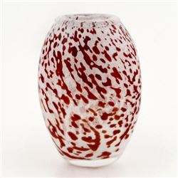 Original Hand-Blown Glass Vase by Novaro