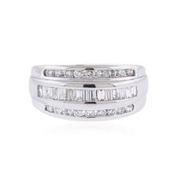 Platinum 1.60 ctw Diamond Ring