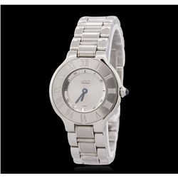Cartier Must De 21 Stainless Steel Wristwatch