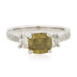 18KT White Gold 3.24 ctw Diamond Ring