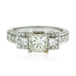 18KT White Gold 1.90 ctw Diamond Ring