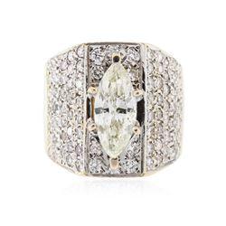 14KT Yellow Gold 1.53 ctw I-1/L Diamond Ring
