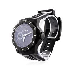 Corum Black PVD Titanium Admirals Cup Deep Hull Wristwatch