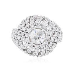 14KT White Gold 2.00 ctw Diamond Ring