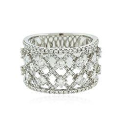 14KT White Gold 1.18 ctw Diamond Ring