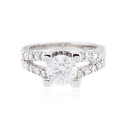 14KT White Gold 1.75 ctw Diamond Ring