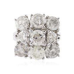 14KT White Gold 5.08 ctw Diamond Ring