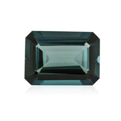 41.39 ctw. Natural Emerald Cut Blue Topaz