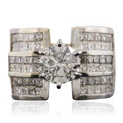 18KT White Gold 5.63 ctw Diamond Ring