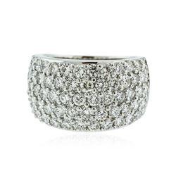 14KT White Gold 2.70 ctw Diamond Ring