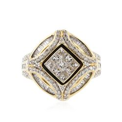 14KT Yellow Gold 1.85 ctw Diamond Ring