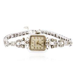Ladies Wittnauer Diamond Wristwatch
