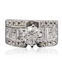18KT White Gold 3.94 ctw Diamond Ring