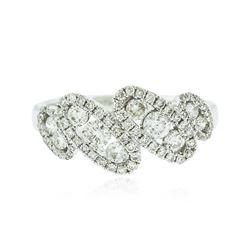 18KT White Gold 0.65 ctw Diamond Ring