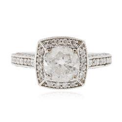 14KT White Gold 1.24 ctw Diamond Ring