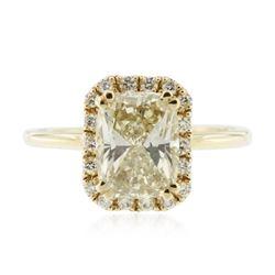 14KT Yellow Gold 2.41 ctw Diamond Unity Ring