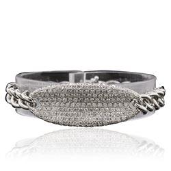 14KT White Gold 4.53 ctw Diamond Bracelet