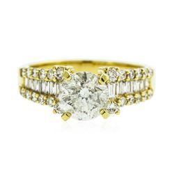 18KT Yellow Gold 2.29 ctw Diamond Ring