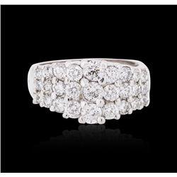 14KT White Gold 1.00 ctw Diamond Ring