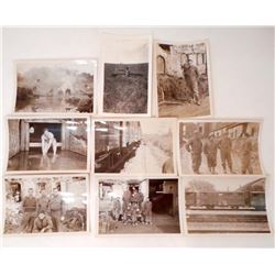 LOT OF 10 VINTAGE MISC. MILITARY PHOTOS