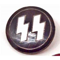 NAZI GERMAN SS PARTY BADGE