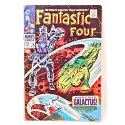 1967 FANTASTIC FOUR COMIC BOOK NO.74 - 12 CENT COVER