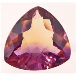 30.36 CT PURPLE AND GOLD BOLIVIA AMETRINE TRILLION