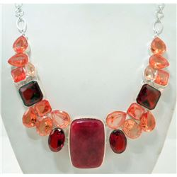 ESTATE COSTUME JEWELRY NECKLACE