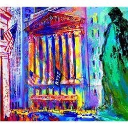 New York Stock Exchange Signed LE Neiman Art Print
