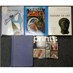 Art Books Lot- Picasso, Chagall, Etchings of GOYA