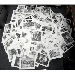 Unframed Collection of 70) 1939 Etchings and Lithograph