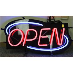 NEON OPEN SIGN NEW IN BOX