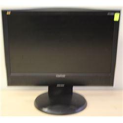 """VIEWSONIC VG1930WM 19"""" LCD MONITOR"""