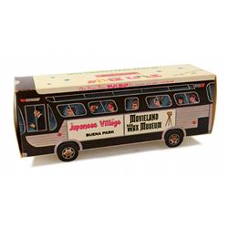 Anaheim FUN BUS Paper Bank - Disneyland, Knotts Berry Farm, Movieland